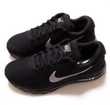 New Nike Air Max 2017 Men's Running Training Shoes Sz 9 Black Silver 849559 001