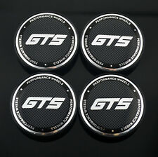 4pc 60mm GTS Performance Wheel Center Cap Universal For 2006-2013 F150 Mustang
