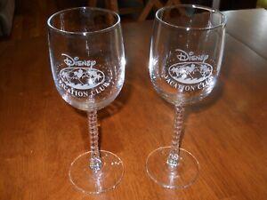 DVC-Disney Vacation Club Wine Glasses