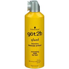 New Schwarzkopf Got2b Glued Blasting Freeze Hair Spray 12 Oz.
