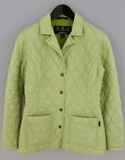 Women Barbour Jacket Quilted Riva Quilt Casual Green Breathable XS UK8 ZKA100