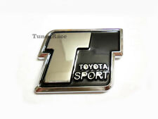 Toyota sport emblem badge sticker CAMRY COLLORA 4RUNNER JDM black New