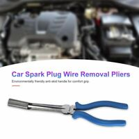 Car Spark Plug Wire Removal Pliers Bend Head Valve Plier Pulling Cable Clamp UF