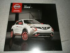 Nissan Juke, 2017 Last year manufacturer sales catalog shows features, Nismo