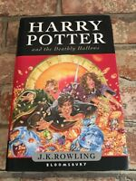 Harry Potter And The Deathly Hallows First Edition Hardback J.K.Rowling TBLO