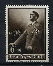 German Reich WW II : Hitler Reichsparteitag stamp from 1939 - used