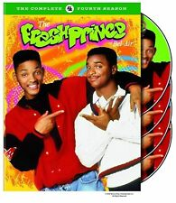 The Fresh Prince of Bel-Air ~ Complete Fourth Season 4 Four ~ NEW 4-DISC DVD SET