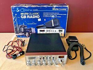 Vintage Philippines 1989 Cobra 29LTD Classic CB Radio w/Original Box Works Great