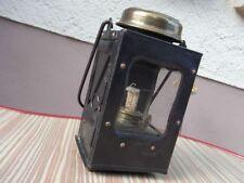 Fledermaus Jugendstil Messing Sturm - Laterne Handlampe Bat lamp Petroleumlampe