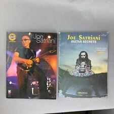 Joe Satriani Easy Guitar & Guitar Secrets Guitar Tab Book Sheet Music