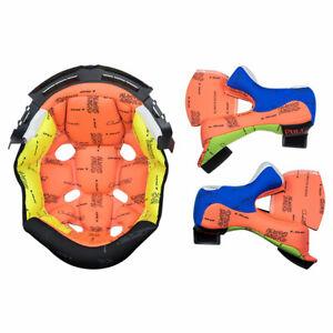 LS2 Liner Kit Orange For MX470 Subverter Motorcycle Motorbike Helmets