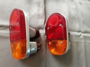 REAR TAIL LIGHTS Maserati Birdcage Alfa Romeo Giulietta SZ S Zagato Coda Tronca