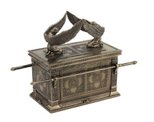 Ark Of The Covenant Trinket Box Sculpture Statue Figurine RELIGIOUS DECOR