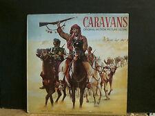 CARAVANS  Original Motion Picture Score   LP  Mike Batt   Great !