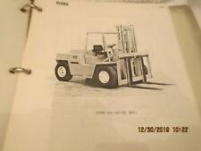 Clark C500 Forklift Lift Truck Shop Service Maintenance Adjustment Repair Manual
