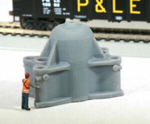 HO Scale Bethlehem Steel Forging Press Upper Head Model Railroad Flatcar Load