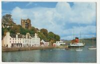 RMS King George V At Tobermory Pier Isle Of Mull 1969 Postcard 867b