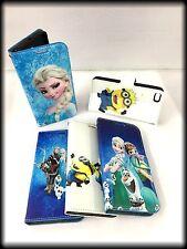 Despicable Me Minion Frozen Book Case Cover iPhone 5G 5C 6 6S Samsung S6 S3 mini