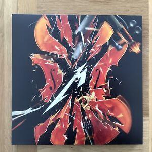 METALLICA - SAN FRANCISCO SYMPHONY S&M2 - ORANGE MARBLED 4 LP VINYL BOX SET