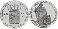 Netherlands - Zilveren Dukaat 2011 Noord-Holland - PROOF - .873 zilver, 28.25 gr
