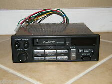 HONDA / ACURA TAPE DECK STEREO, 39100-SK7-A110-M1, WITH WIRING HARNESS