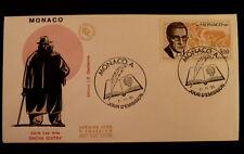 MONACO PREMIER JOUR FDC YVERT  1501       SACHA GUITRY        3F       1985