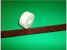 """Great Plains Floral Leather Emboss Roll High Impact Poly 1"""" Wide"""