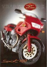 1994 Moto Guzzi Sport 1000 large heavy paper brochure