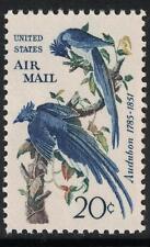 Scott C71  - Columbia Jays  John Audubon  -1967- ONE 20 CENT AIRMAIL STAMP - MNH
