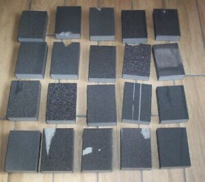20 x MIXED GRADE WET AND DRY SANDING BLOCKS PADS (FACTORY SECONDS) B
