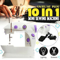 Home Mini Desktop Sewing Machine Double Speed Automatic Thread Household Tailor