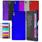 For Sony Xperia X Thin Ultra Slim Hard Shell Case Back Cover + Screen + Stylus