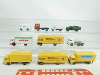 BK93-0,5# 10x Wiking H0/1:87 LKW: MAN + MB + Volkswagen/VW + Opel etc, 2. Wahl