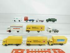 bk93-0,5 #10x WIKING H0/1:87 Autocarro: MAN + MB+ VOLKSWAGEN / VW + OPEL ecc. ,
