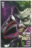 Batman Three Jokers #1 2020 Unread 2nd Print Fabok Joker Shark Variant DC Comics
