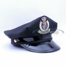 NEW Yacht Captain Skipper Sailor Boat Cotton Police Hat Cap Party Costume