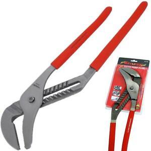 """Neilsen 20"""" Large Plumbers Soft Grip Waterpump Pipe Wrench Pliers Grips Pump"""