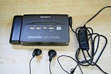 SONY CASSETTE PLAYER WM-EX555 NOT WORKING Battery box+Headphone 190424