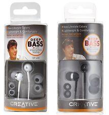 Creative earbud earphones EP-630 model EP-630TE-WT EP-630TE-WT black white Japan