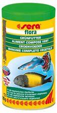 sera flora - Die Grünflocken mit viel Spirulina (1 x 1000 ml)