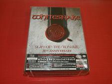 WHITESNAKE SLIP OF THE TONGUE 30TH REMASTER JAPAN SUPER DELUXE  6 SHM CD + DVD