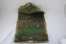 Vintage Abercrombie & Fitch Co New York Empty Green Roll Sewing Bag Pouch