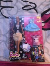 Rare barbie fashionistas Leather And Ruffles