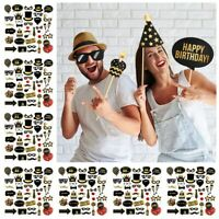 Supplies Anniversary Decor Paper Props Photo Booth 30/40/50/60th Birthday Party