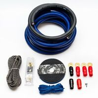 0 AWG GAUGE WIRING KIT 65MM2 OVERSIZED SUPER THICK AMPLIFIER AMP CCA WIRING KIT