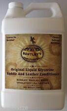 BENTLEY Liquid Glycerine Saddle & Leather Conditioner Soap one Gallon size