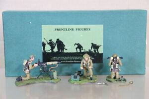 FRONTLINE FIGURES WBIS1 WWII BRITISH INFANTRY SUPPORT 303 VICKERS MACHINE GUN oa