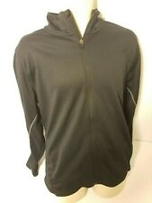 Under Armour Jacket Full Zip Mens L Black Spellout
