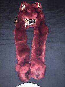 Brand New Spirithoods Love Wolf Faux Fur Spirithood