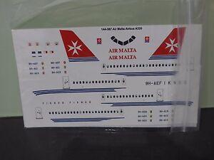 Air Malta Airbus A320 twosix decals recommended kit Revell CFM engines+Bonus pen